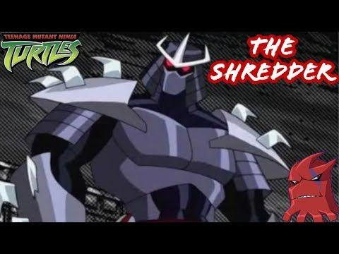 The Shredder Tmnt 2003 A Deeper Look Demon Shredder Ch Rell Cyber Shredder More Youtube Tmnt Shredder Tmnt Demon