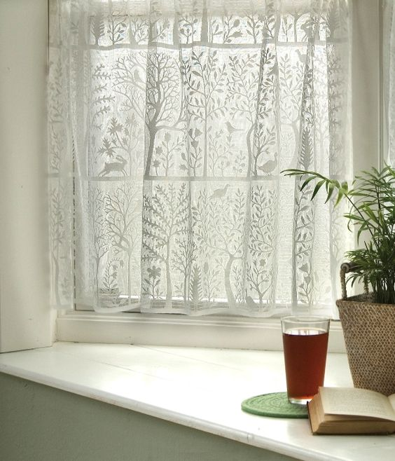 Rabbit Hollow Tree of Life Folk Curtains - don't actually have a need for net curtains but do love these!