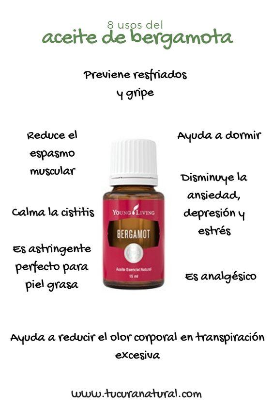usos del aceite de bergamota