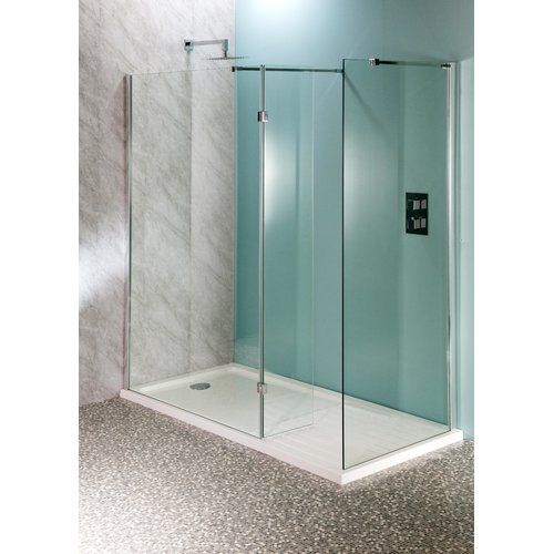 Abate Hinged Frameless Shower Door Belfry Bathroom Size 200cm H X 30cm W Frameless Shower Doors Frameless Shower
