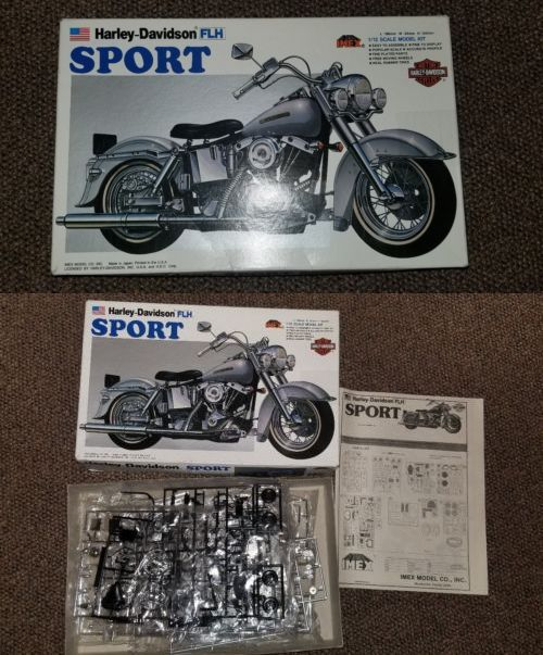 Imex 458 1 12 Harley Davidson Flh Sport Harley Davidson Motorcycle Model Harley