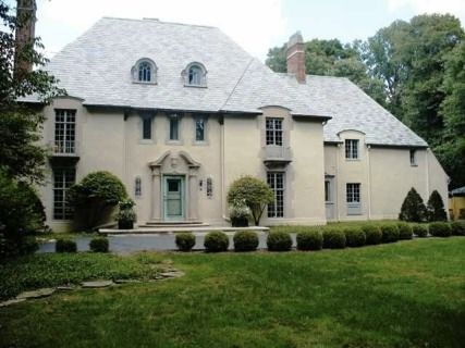 french country colonial house plans   Older French home      french country colonial house plans   Older French home   stucco and limestone surround   Homes   Pinterest   Stucco Houses  Colonial House Plans and