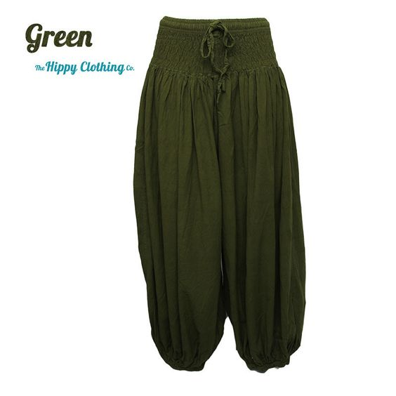 Coline Premium High Crotch Cotton Harem Pants | The Hippy Clothing Co.