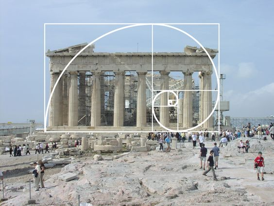"""""""Without mathematics, we are blind."""" — Alain Badiou (1937-    ) Short Treatise on Transient Ontology (1998) — Image: [Maths are everywhere, you can't escape] The Golden Ratio in the Parthenon — #math #mathematics #AlainBadiou #quoteoftheday"""