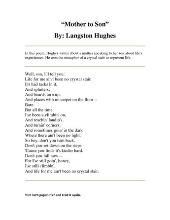Best Famous Langston Hughes Poems | Famous Poems