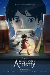 The Secret World of Arrietty (2010) Poster