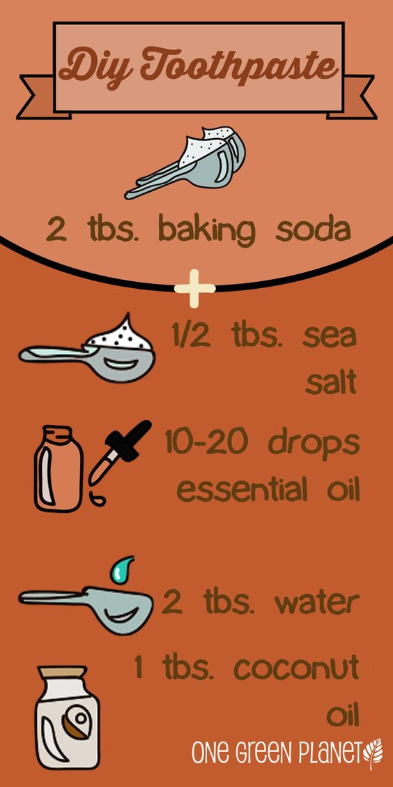 DIY Toothpaste. 2 tbsp soda 5 turns salt 1 cap peppermint extract 1 tbsp coconut oil  1 tbsp water. Try no water next time. The oil and water separated making it hard to stir. Melted coconut oil.
