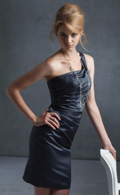 Mori Lee Affairs 192 One Shoulder Short Bridesmaid Dress