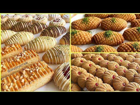 أشكال جديدة وخرافية حلويات العيد 2020 سهله وسريعة اقتصادية New And Fairy Shapes Of Eid Sweets Youtube In 2020 Food Mini Cupcakes Desserts