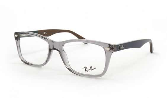 Grey is the new Black! Ray Ban RB5228 5546 53 Grey.