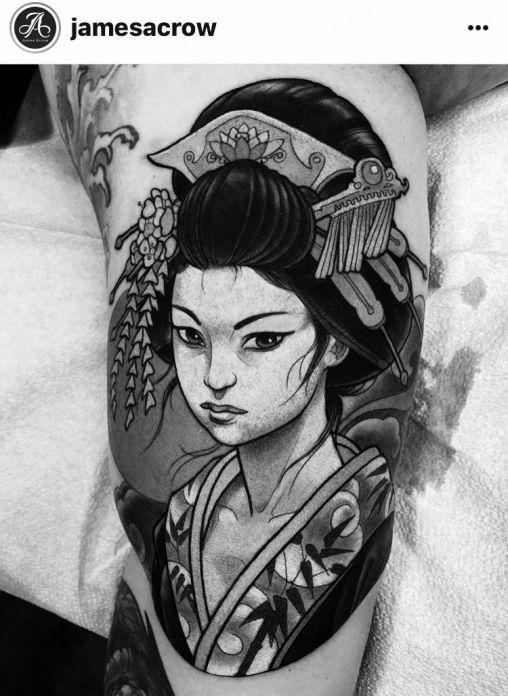 Geishatattoos Geisha Tattoos Pictures Japanese Tattoo Tattoos Japanese Sleeve Tattoos