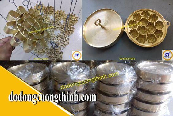 Khuôn bánh đồng thau Việt Nam