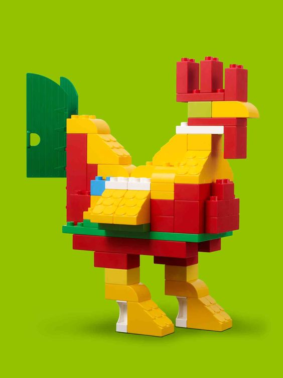 You ve just spent all that time helping your preschooler build the duplo farm - Idee construction lego ...