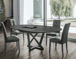 Tavolo Rotondo Allungabile Round Artigianale In Offerta Nel 2020 Tavolo Rotondo Tavolo Rotondo Allungabile Tavolo Design