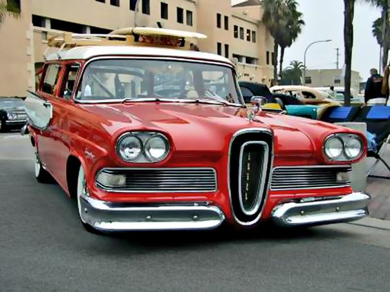 Classic Car Art Edsel Ranger Projekty Do
