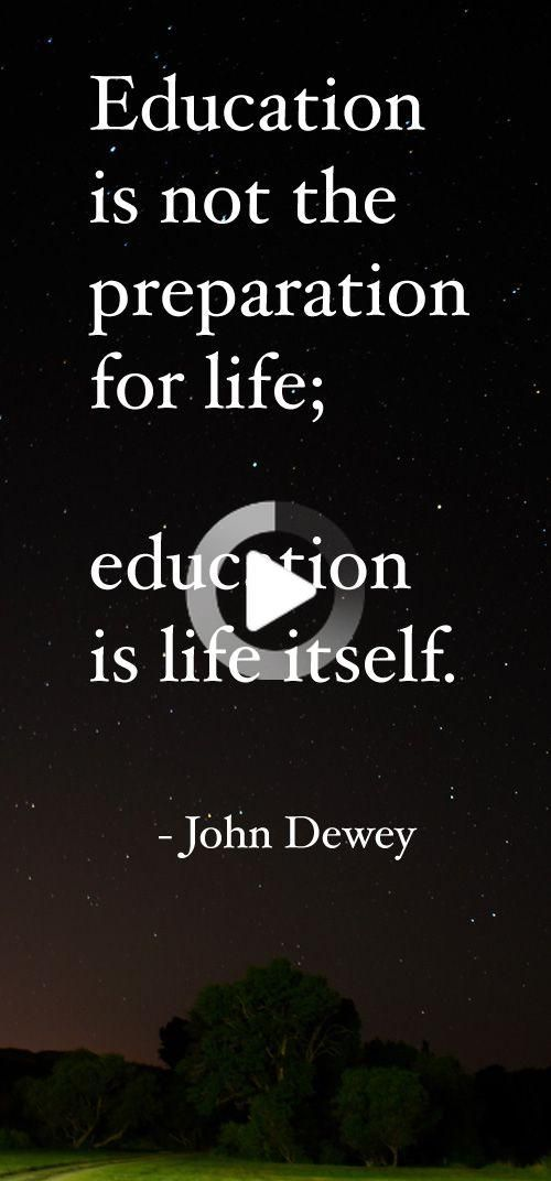 John Dewey Quotes On Education : dewey, quotes, education, Education, Preparation, Itself., Dewey, Quotes,, School, Education,, Agriculture