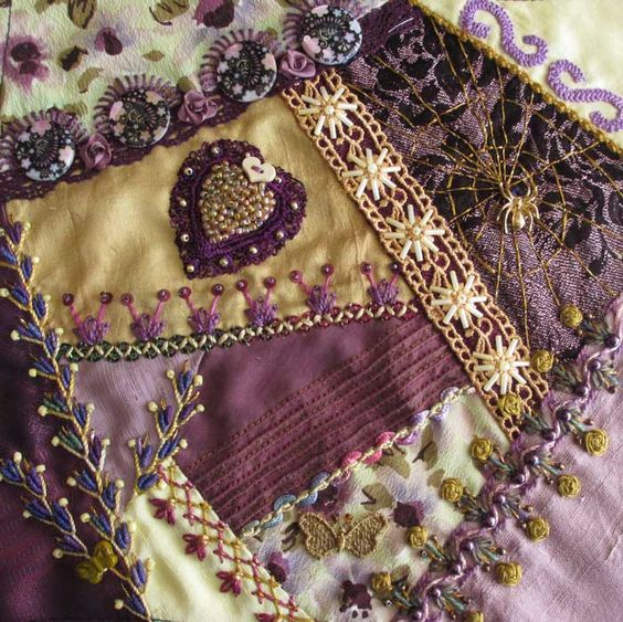 crazy quilts | crazy quilt block - pintangle.com: