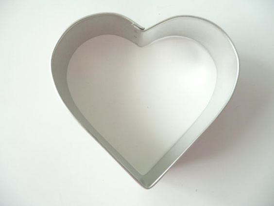 Heart Shape 3.25 Cookie Cutter Valentines by CakeAndCandyDreams