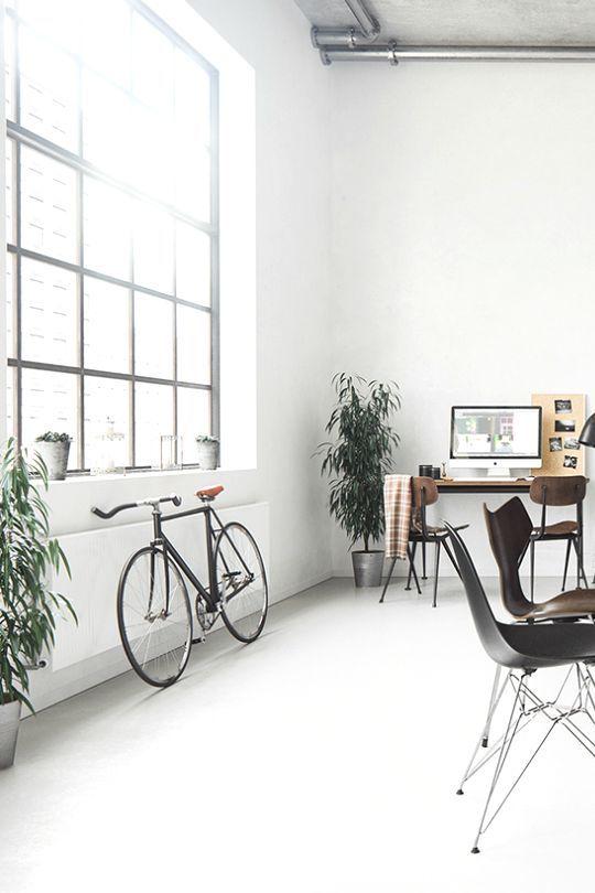 лофт мінімалізм білий дизайн стіни