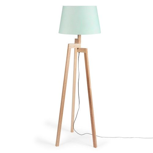 lampadaire tr pied pastel en bois maisons du monde my dreamhouse pinterest pastel. Black Bedroom Furniture Sets. Home Design Ideas