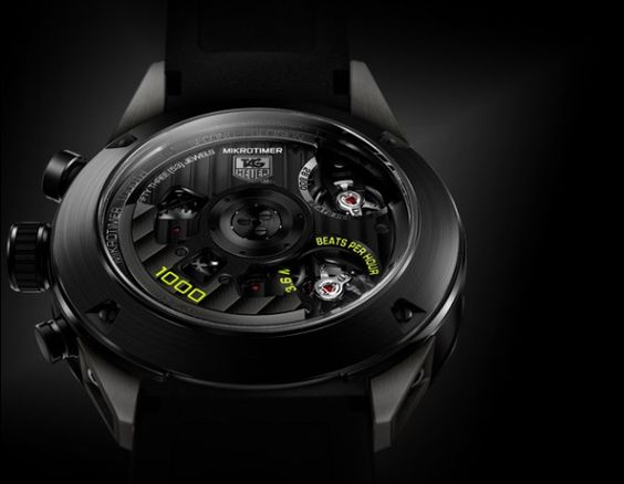 TAG HEUER mikrotimer Flyinh 1000 concept watch