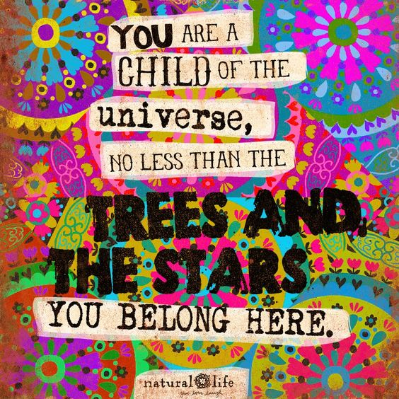 You belong here! #naturallife #livehappy