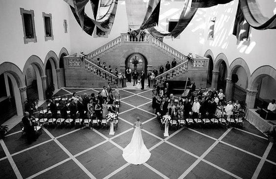 Saying I do at the Chrysler Museum