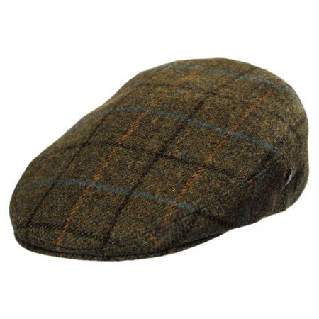Wool and Cashmere Plaid Ivy Cap available at #VillageHatShop