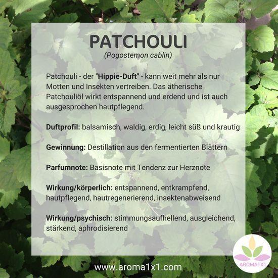 Patchouli Der Hippie Duft Kann Weit Mehr Als Nur Motten Und Insekten Vertreiben Das Atherische Ol Des Patch Korperol Aromatherapie Rezepte Selber Machen