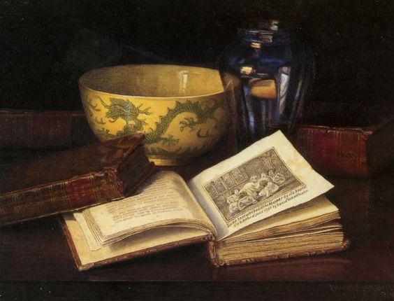 Claude Raguet Hirst (1855-1942) The Pleasure of Memory