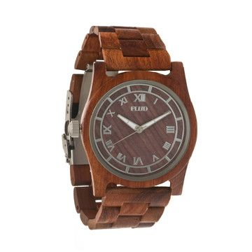 The Moment Watch Redwood by Flud Watches