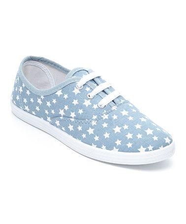 Look at this #zulilyfind! Blue Star Sneaker by Transco #zulilyfinds