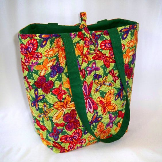 Butterfly Tote Bag Purse Handbag Butterflies by ColleensDesigns