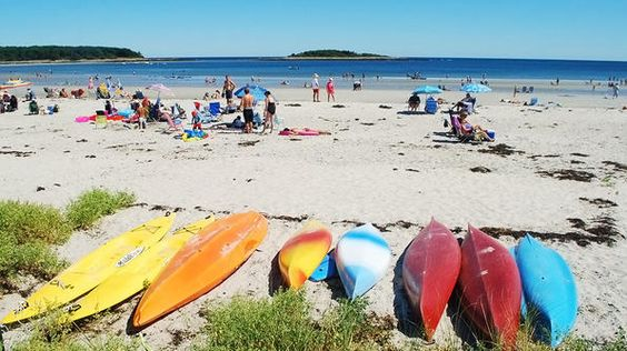 Hit the beach in Kennebunkport!