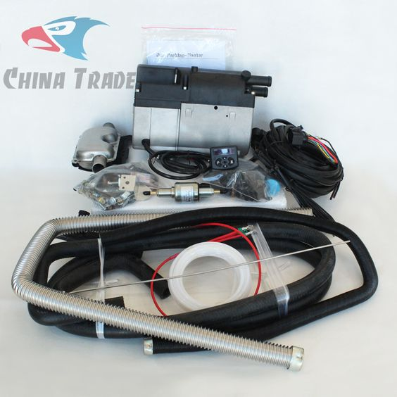 5KW Water Parking Heater Set--Inlet outlet pipe, heaters, fuel, pump, filter--JP China Trade PARKING HEATERS
