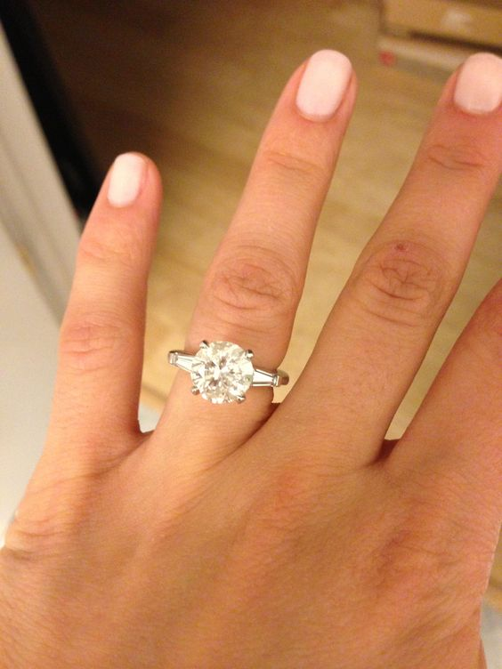 Harry Winston Baguette And Engagement On Pinterest