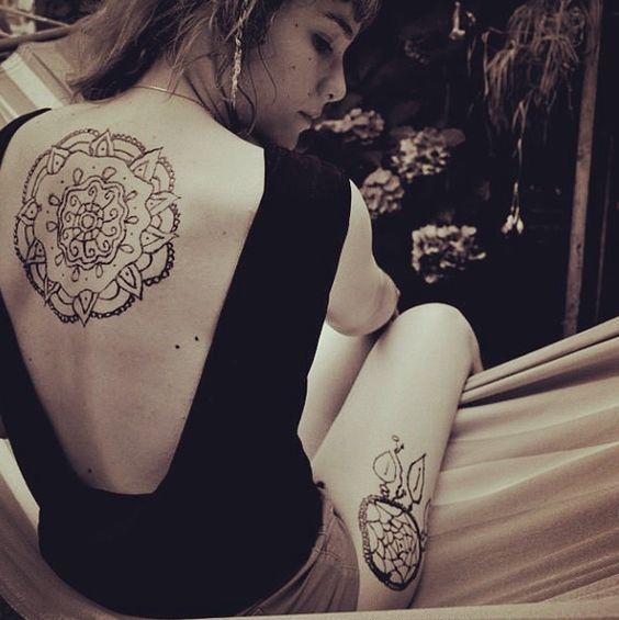 #mandala #henné #faitmain #handmade