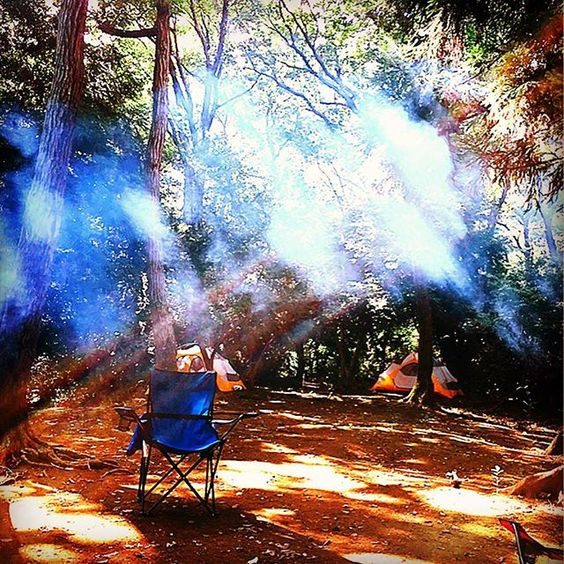 【orie.k.2】さんのInstagramをピンしています。 《キャンプにて✨煙と木漏れ日のコラボ🌳🌞 This is a collaboration of smoke and sunlight that filters through the leaves of trees at the camp site.  #キャンプ #煙 #木漏れ日 #お日様 #コラボ #青い椅子 #良いお天気 #行楽日和 #残暑 #森林 #リフレッシュ #写真 #インスタ始めました  #camping #smoke #sunlight #collaboration #forest #sunny #happy #relaxtime #photography #nature #bluechair #tokyo #japan #lovenature》