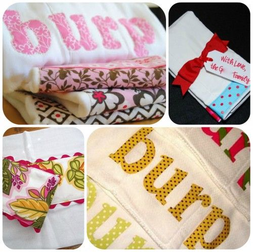 60 Handmade baby gifts