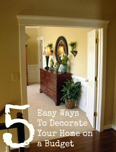 como decorar la casa con un presupuesto bajo para la casa pinterest buenas ideas primer lugar y house