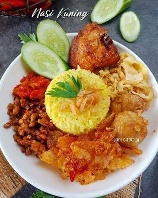 Nasi Kuning Rice Cooker : kuning, cooker, Kuning, Cooker, Resep, Masakan,