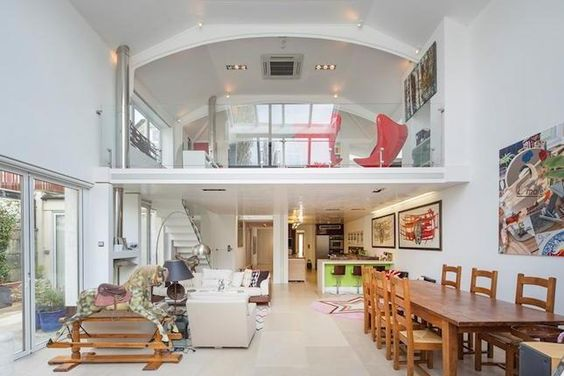 Mezzanine mezzanine floor and open plan living on pinterest - Open mezzanine ...
