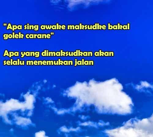 123 Kata Bijak Bahasa Jawa Yang Penuh Motivasi Dan Filosofi Weather