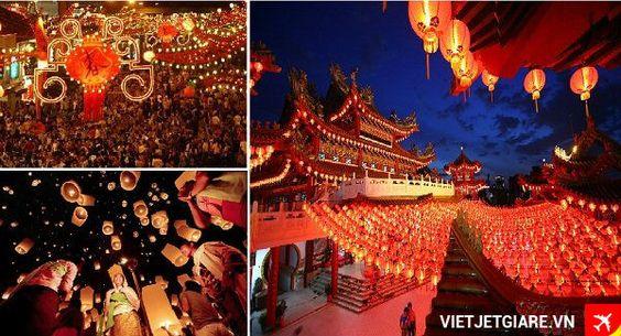 Ngày Tết trung thu ở khu China Town ngập tràn màu sắc