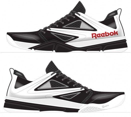 reebok shoes original logo sketch