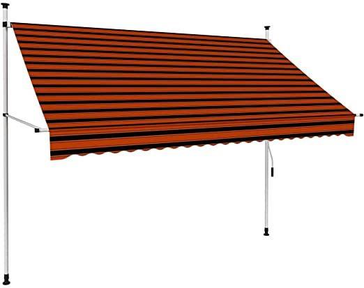 K Uuml Chenks Manual Retractable Awning Garden Sun Shade Canopy Terrace Balcony Garden Outdoor With Fittings An In 2020 Sun Shade Canopy Shade Canopy Garden Sun Shade