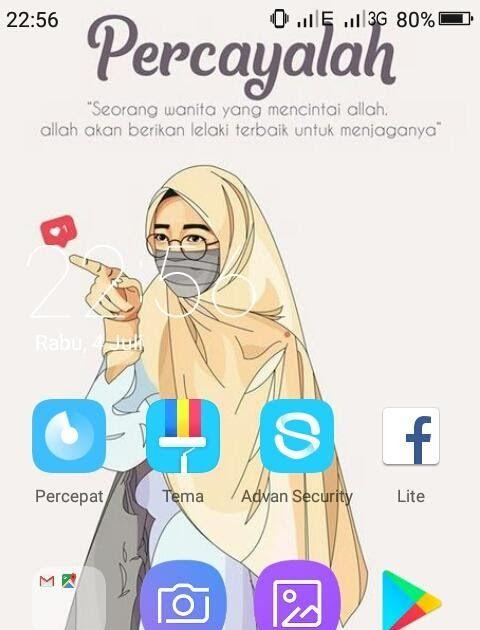 30 Gambar Kartun Wanita Muslimah Dari Belakang Kartun Muslimah Wallpaper Hd Apl Di Google Play Download Syuaziz Offici Kartun Gambar Kartun Wallpaper Seni