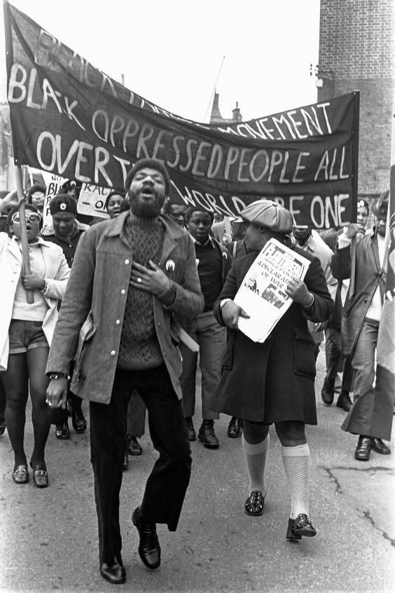 Power Struggle A New Exhibition Looks Back At The Rise Of The British Black Panthers Movement Black Power Movement Black Lives Matter Protest