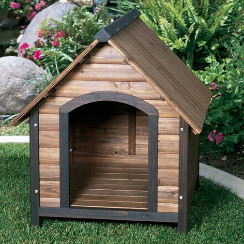 Details About Precision Pet Dog House Outback Country Lodge Medium Lodge M In 2020 Small Dog House Dog House For Sale Insulated Dog House
