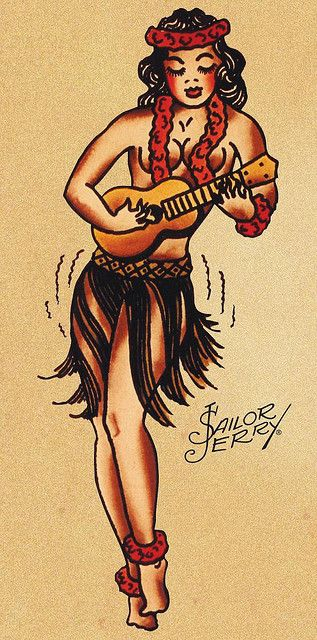 Sailor jerry 7 by familiar strangers tattoo studio for Sailor jerry gypsy tattoo